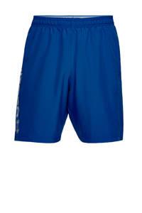 Under Armour   sportshort blauw, Blauw