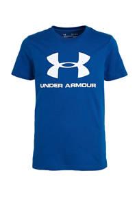 Under Armour   sport T-shirt blauw