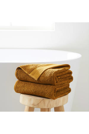 handdoek hotelkwaliteit (set van 2) (50 x 100 cm) Toffee