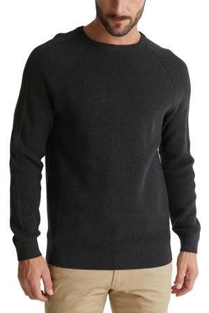 trui van biologisch katoen zwart