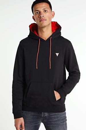hoodie Christian zwart/rood