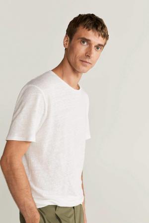 linnen T-shirt wit