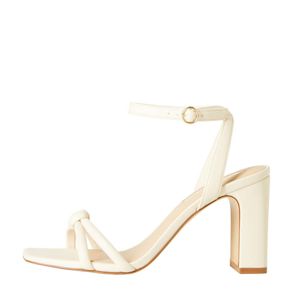 Mango   sandalettes ecru, Ecru/Off white