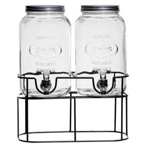 drank dispenser met houder (2x3 liter)