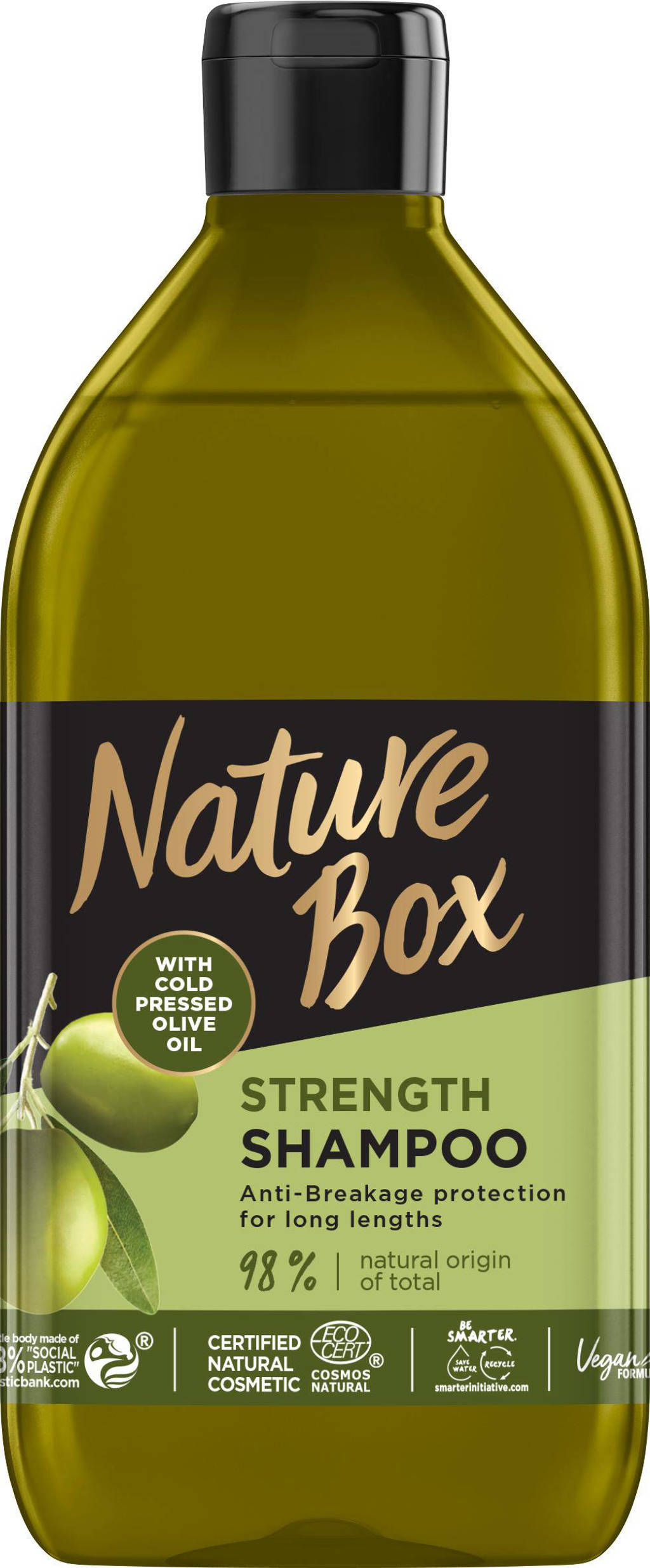 Nature Box Olive shampoo - 385 ml