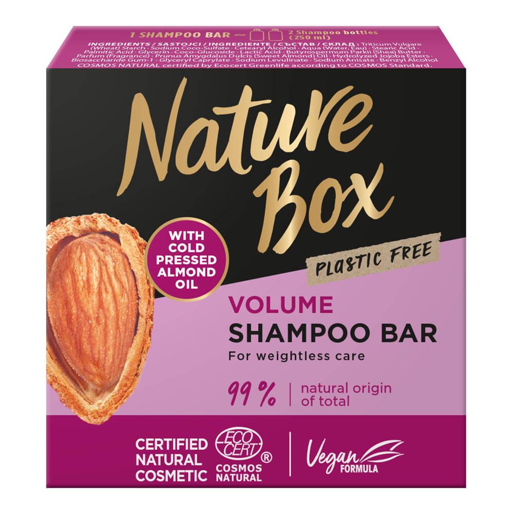 Nature Box Almond shampoo bar - 85 gr