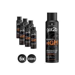 Roaring High High Spray Clay - 6x150 ml