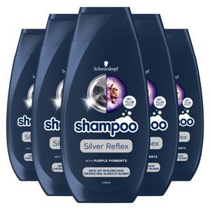 Reflex zilvershampoo - 5x250 ml