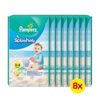 Pampers Splashers zwemluiers maat 3-4 - 8x12, 3/4 (6-11 kg)