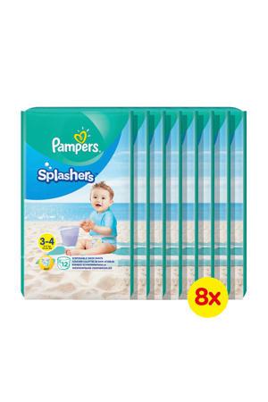 Splashers zwemluiers maat 3-4 - 8x12