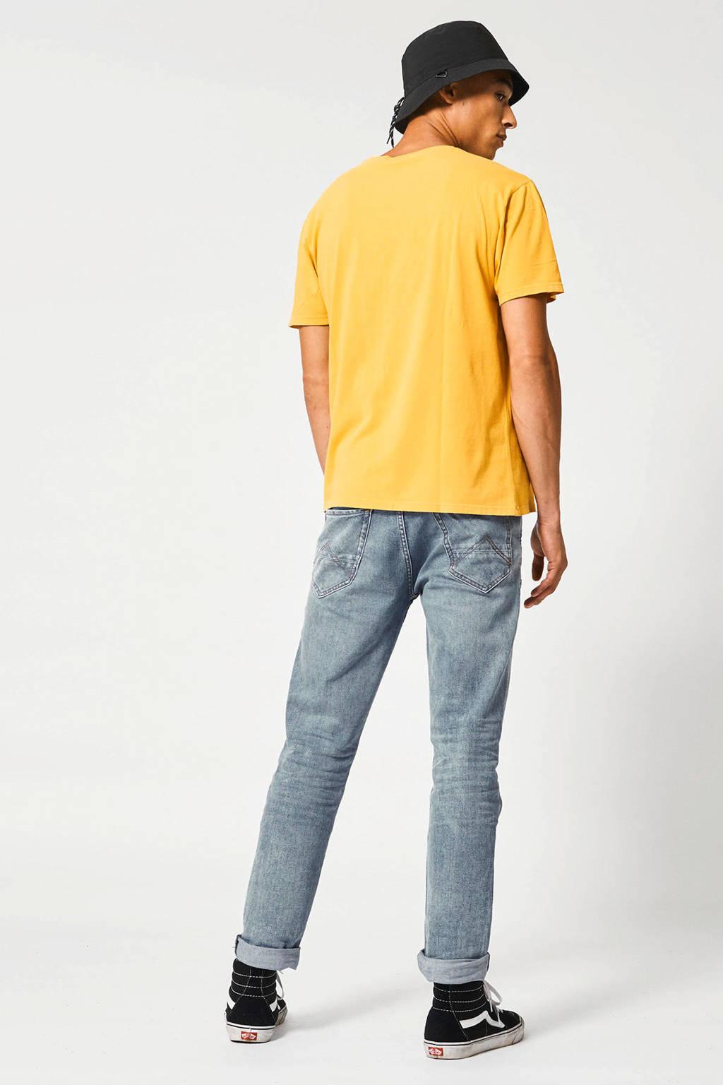 America Today T-shirt geel, Geel
