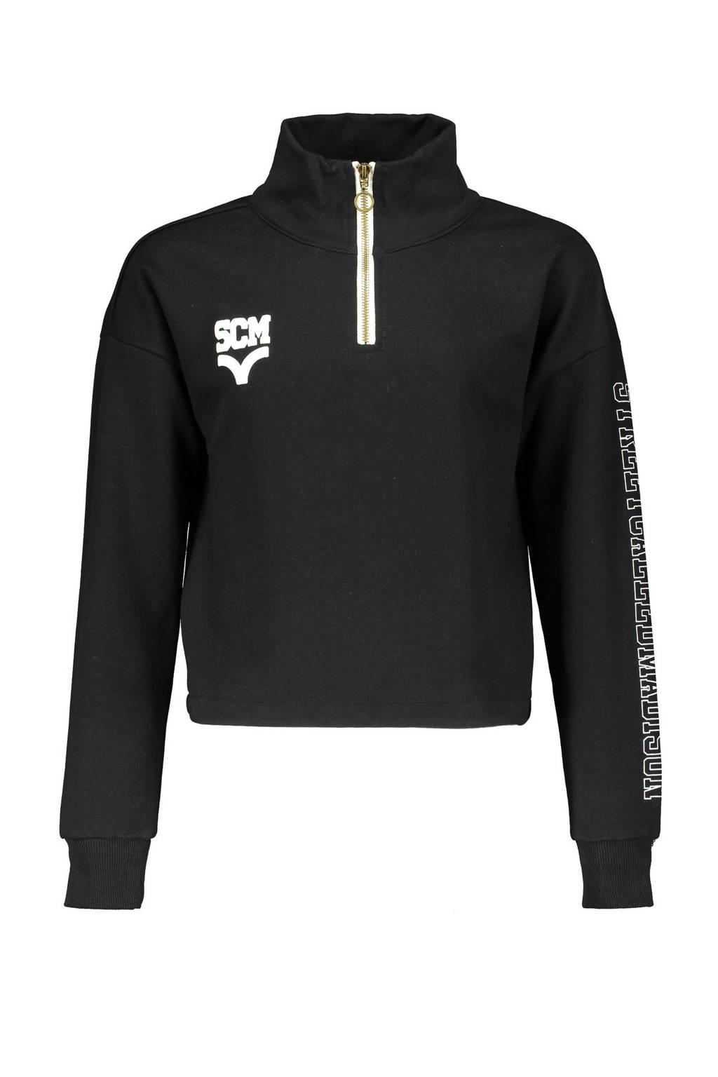 Street called Madison sweater Daily zwart, Zwart