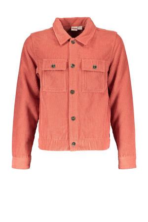 corduroy jasje Got It met textuur roze