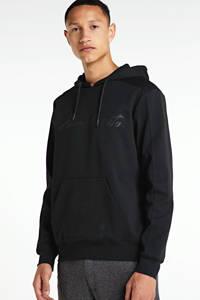 Antony Morato hoodie met logo zwart, Zwart