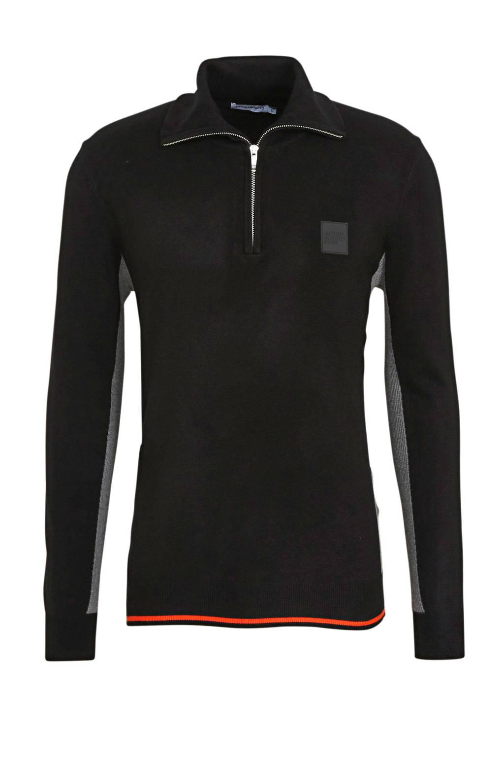 Antony Morato fijngebreide trui zwart, Zwart