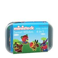 Ministeck Wilde Dieren Box, 500 steentjes