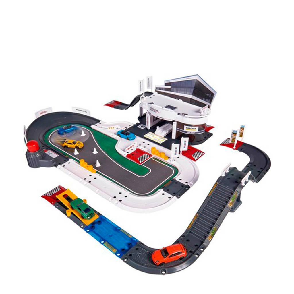 Majorette  Porsche Exprerience Center met voertuigen