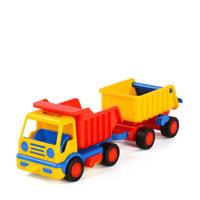Polesie  Wader Basics Kiepwagen met trailer