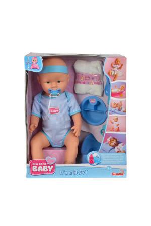 Verzorgingsset Jongen babypop