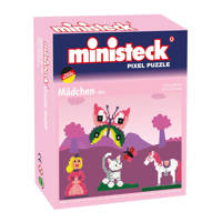 Ministeck Pixel Puzzel - Prinses, 500 steentjes