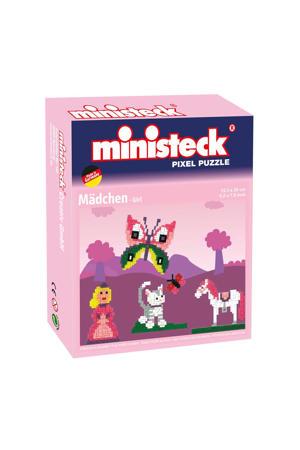 Pixel Puzzel - Prinses, 500 steentjes