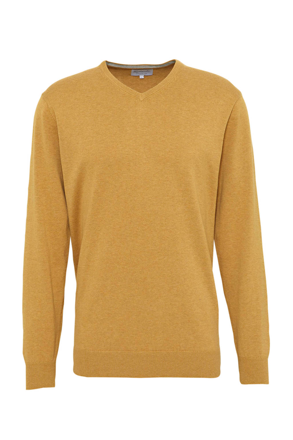 Michaelis fijngebreide trui geel, Geel