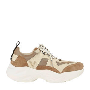 Lacy  chunky dad sneakers beige/bruin