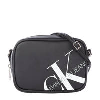 CALVIN KLEIN   crossbody tas Camera met logo zwart, Zwart