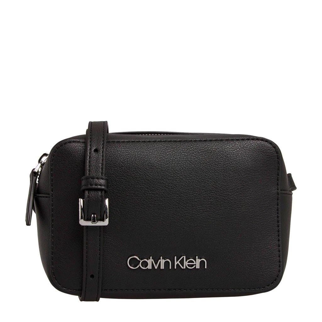 CALVIN KLEIN   crossbody tas Camera zwart, Zwart
