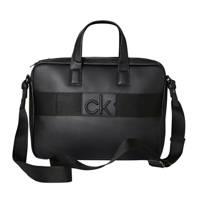 CALVIN KLEIN  15 laptoptas CK CENTRAL zwart, Zwart