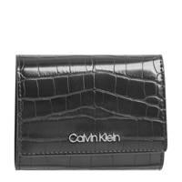 CALVIN KLEIN portemonnee zwart, Zwart