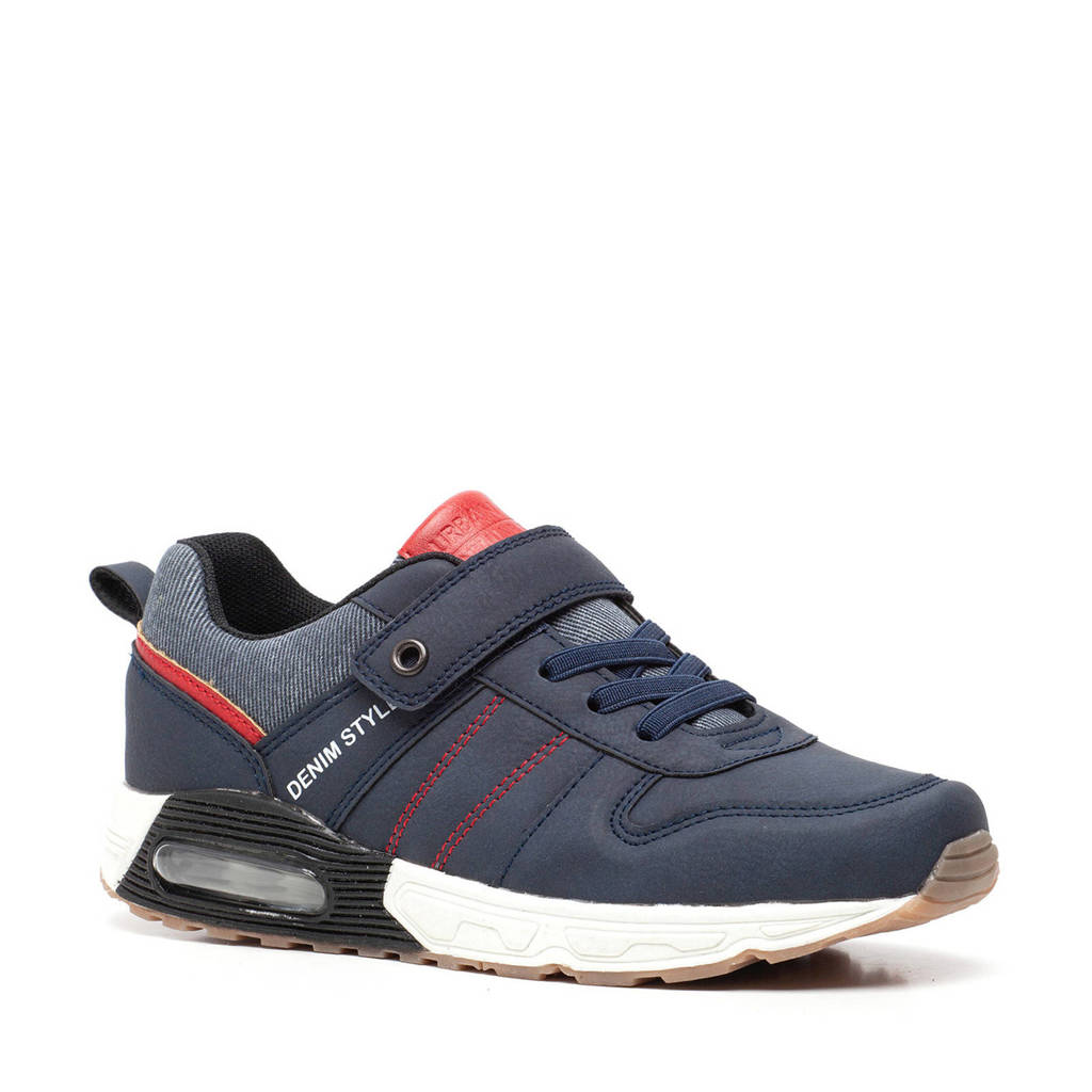 Scapino Blue Box   sneakers blauw/rood, Blauw/rood