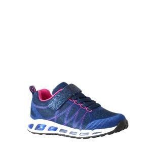 sneakers met lichtjes blauw/roze