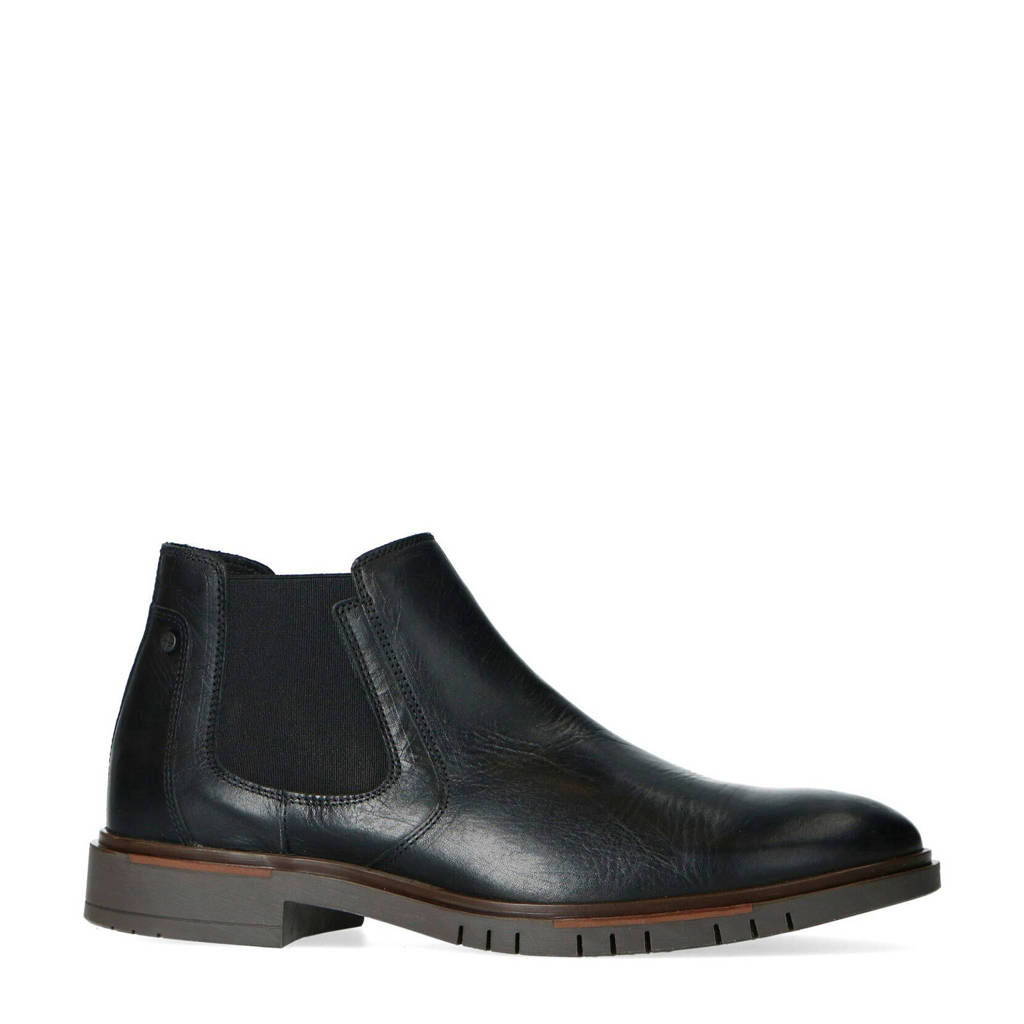 Sacha   chelsea boots zwart, Zwart