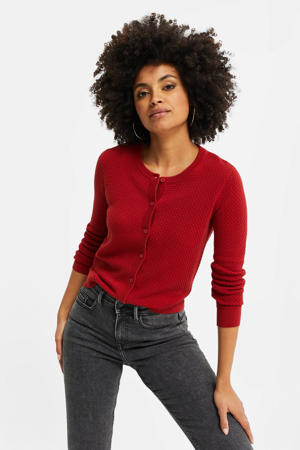 vest brick red