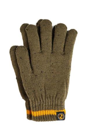 handschoenen legergroen