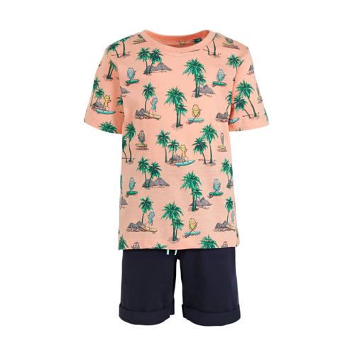 C&A Palomino T-shirt + short - set van 2 zalm/