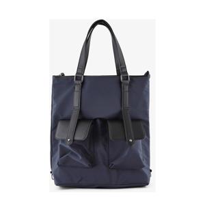 shopper rugzak donkerblauw