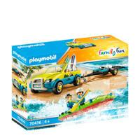 Playmobil Family Fun  Strandwagen met kano's - 70436