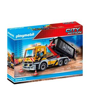 Vrachtwagen met wissellaadbak 70444