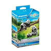 Playmobil Family Fun  2 Panda's met baby - 70353