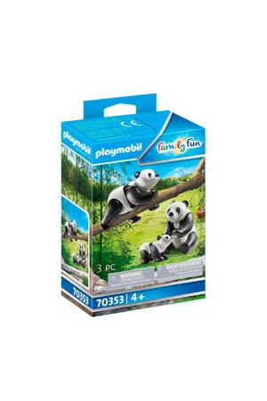 2 Panda's met baby - 70353