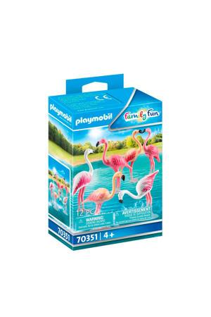 Zwerm flamingo's - 70351