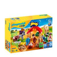 Playmobil 1-2-3  Kerststal  70047