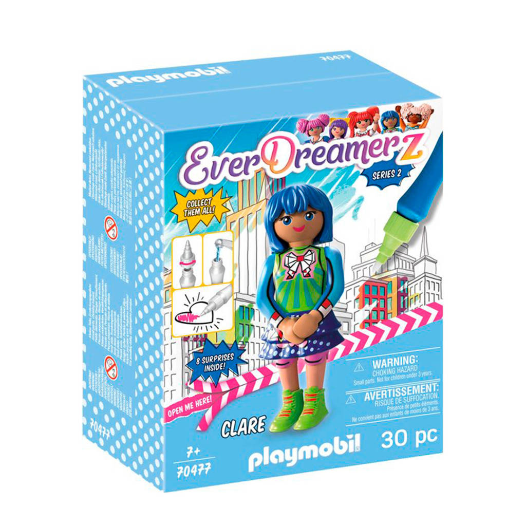 "Playmobil EverDreamerz   Clare ""Comic World"" - 70477"