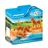 Playmobil Family Fun  2 Tijgers met baby - 70359