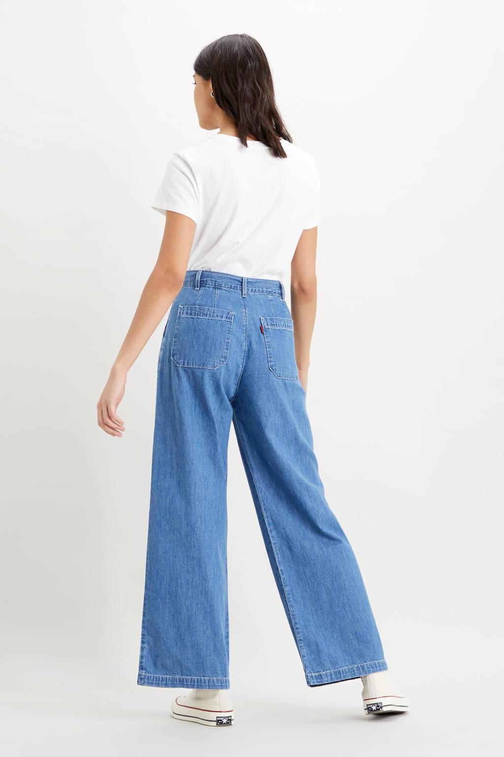 Levi's high waist loose fit jeans london indigo, LONDON INDIGO