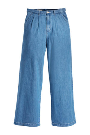 high waist loose fit jeans london indigo