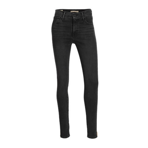 Levi's 720 high waist super skinny jeans smoked out
