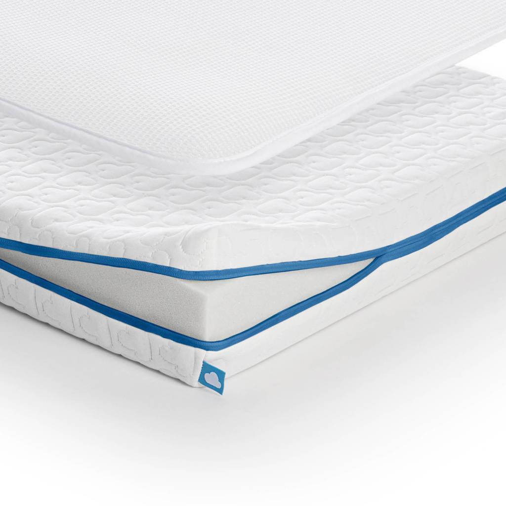 AeroSleep ® Evolution Pack 2-in-1 : Matras + 3D Beschermer (70x140 cm), Wit